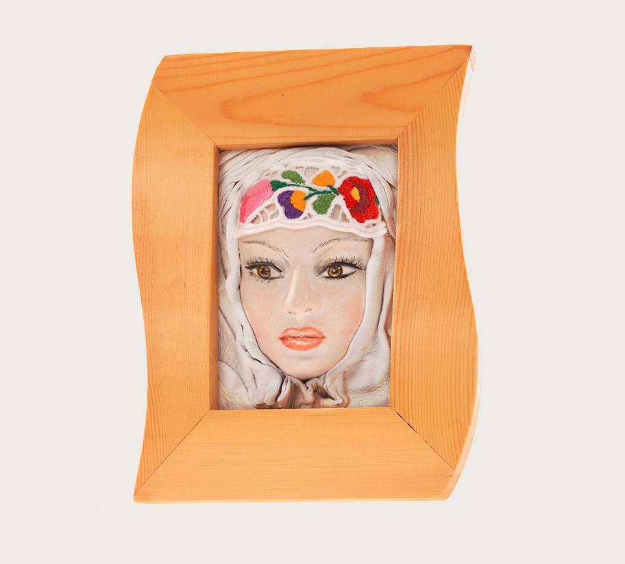 kalocsai lány portrékép