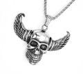 skull szárnyas nyakláncjó